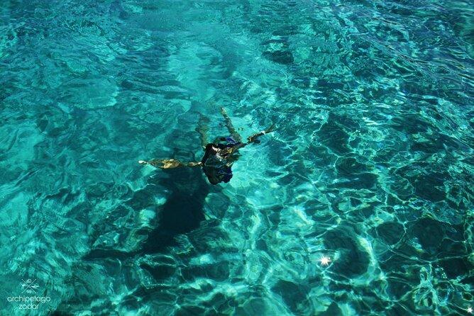 KORNATI ISLANDS, Small Group – max 12 ppl, Fish Snorkeling Spot, Sandy Lagoon
