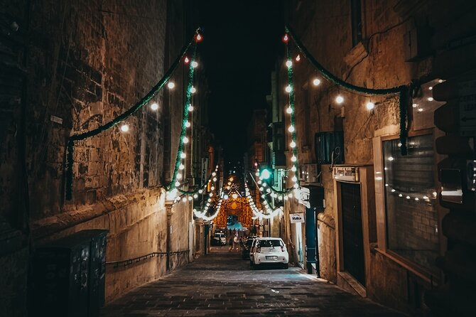VALLETTA by NIGHT Tour (Night Tour with Pick-up)