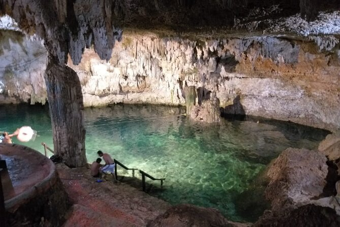 Full Day Tour with 3 cenotes and 1 lagoon from Cancun