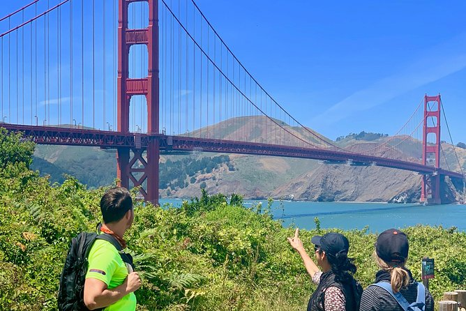 Half Day Walk to the Golden Gate Bridge thru The Presidio SF