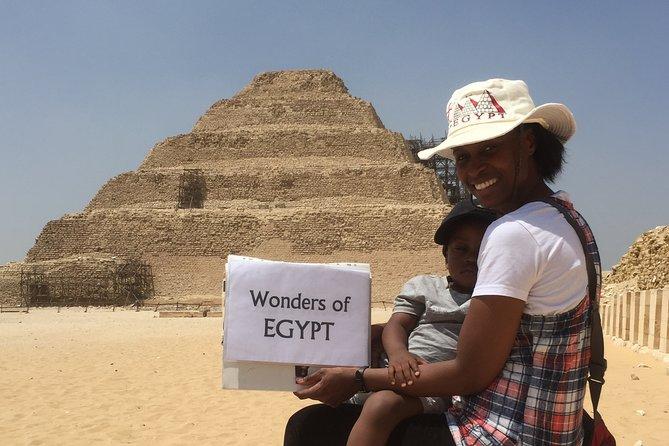 Black Pharaohs Adventure to Giza Pyramids, Great Sphinx, Saqqara & Dahshure