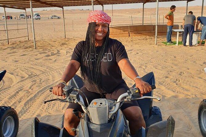 Evening Desert Safari 4x4 Dune Bashing,Sandboarding,Camel Riding,Dinner