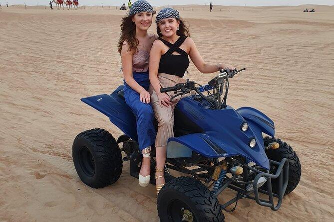 Enjoy The Evening Desert Safari Quad Bike From Dubai
