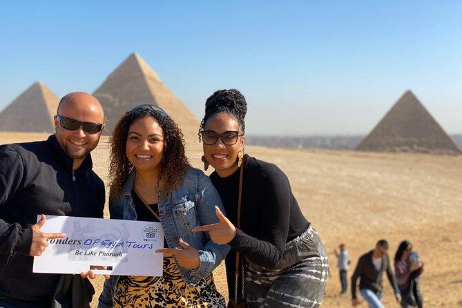 Black Pharaohs Adventure To Giza Pyramids, Great Sphinx, Saqqara & Memphis