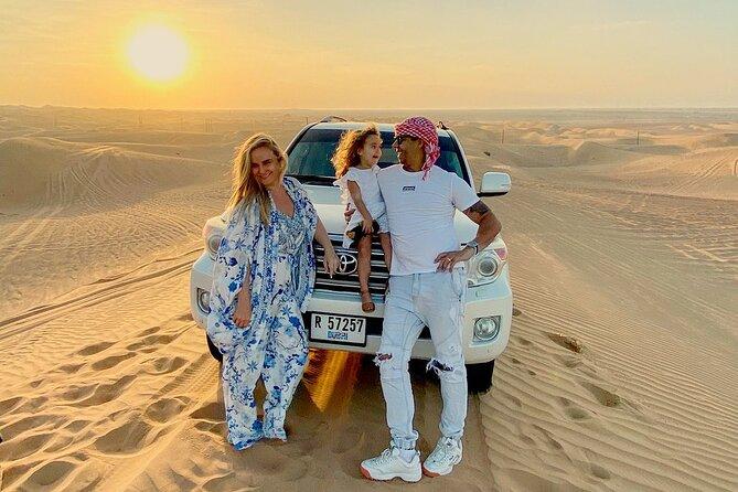 Standard Desert Safari, camel ride, BBQ Dinner, Belly Dance Show, Pick & Drop