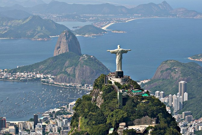 Guided Tour in Rio with visit to Corcovado and Sugar Loaf Without tkt Without Ref