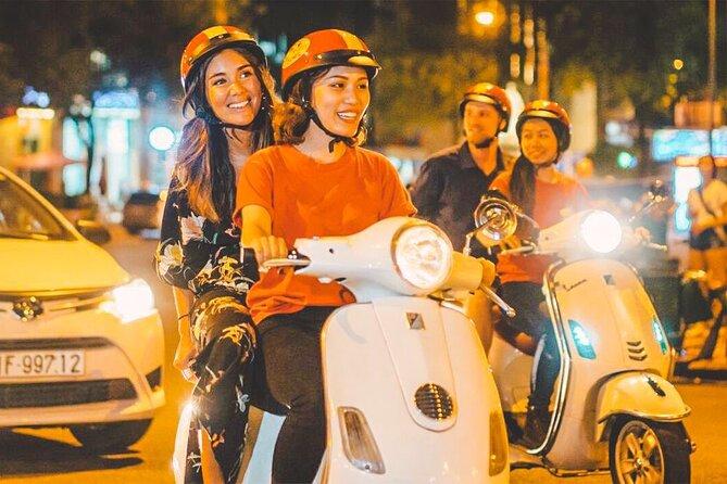 Discover Saigon after Dark by Vespa