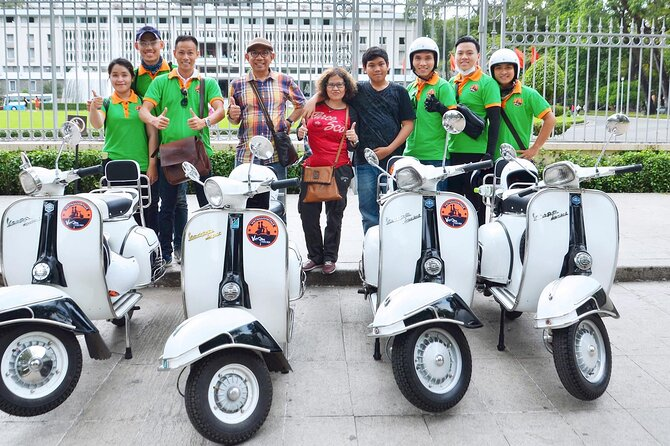The Insider's Saigon by Vespa half day tour