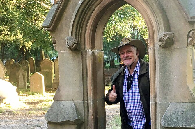 Newtown Walking Tour with historic Camperdown Cemetery
