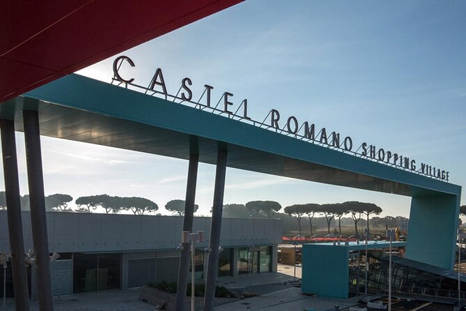 Castel Romano Designer Outlet Shopping Small Group Tour