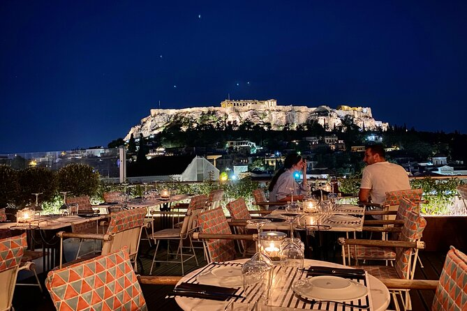 Athens Roof Top Lounge Experience