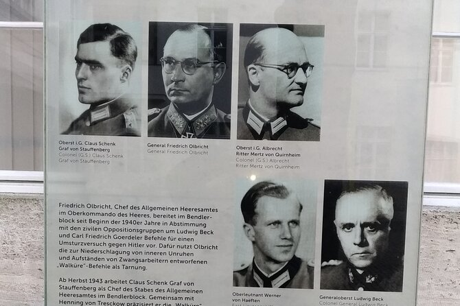 Secret Germany - Resistance in the Third Reich - Private Tour in Berlin