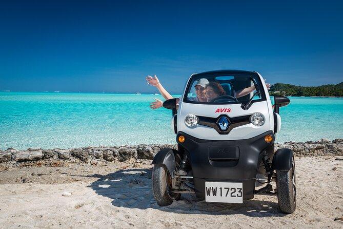 Full-Day Private Bora Bora Electric Car Rental