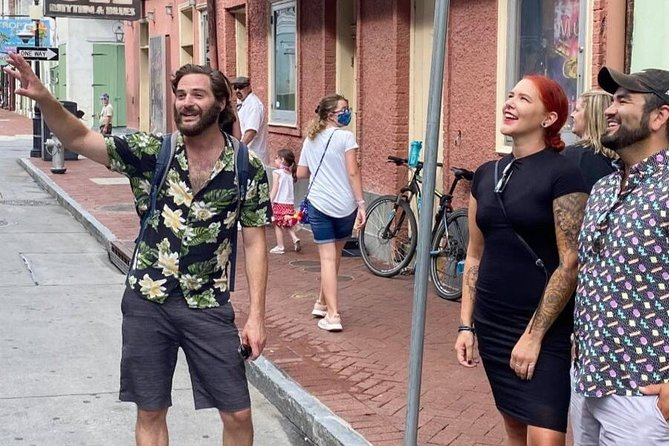 Small-Group Guided Walking Tour of Bourbon Street
