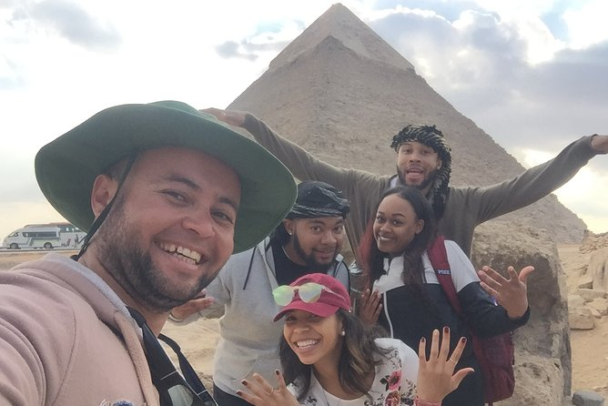 Black Pharaohs Adventure To Giza Pyramids, Great Sphinx With Camel Ride & ATVs