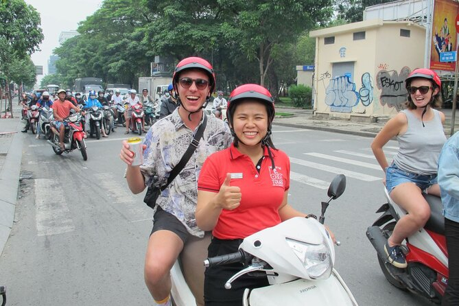 Ho Chi Minh city morning tour by Scooter