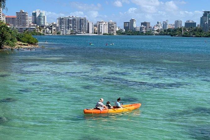 Kayak Equipment Rental at The Condado Lagoon