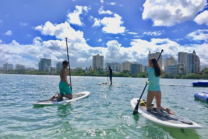 Paddleboarding Adventure through the Condado Lagoon