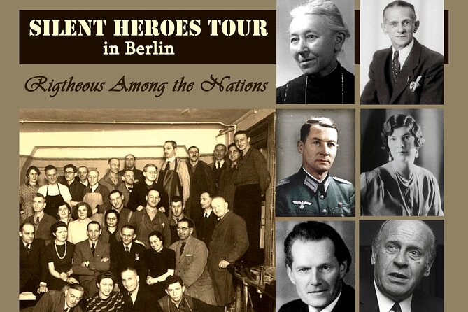 Silent Heroes - Righteous Among the Nations - Private Tour in Berlin