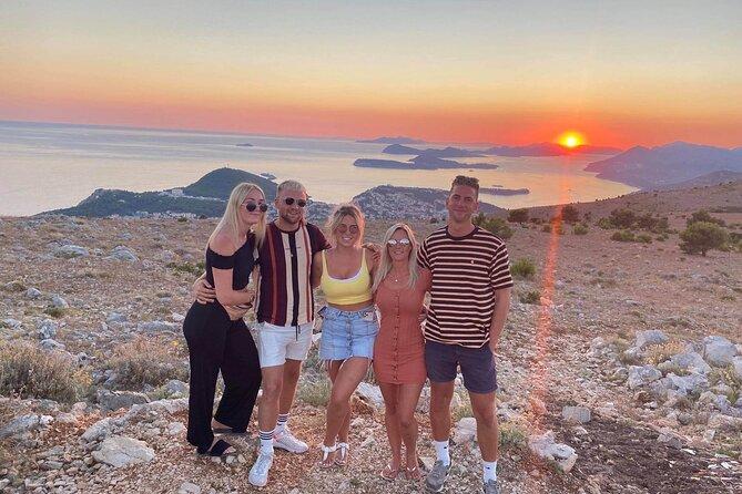 Dubrovnik sunset panorama