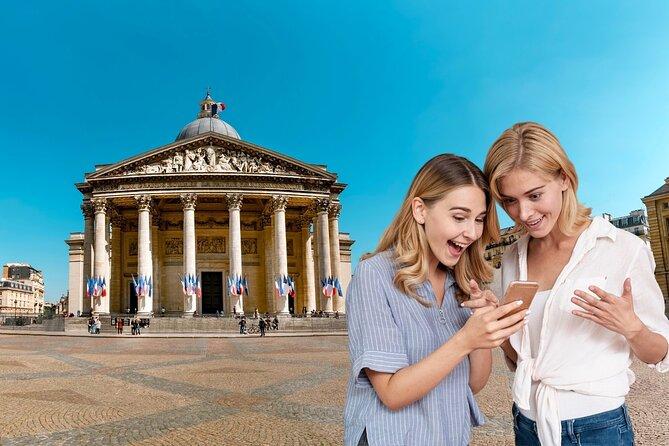 Treasure hunt in Paris - Who am I?