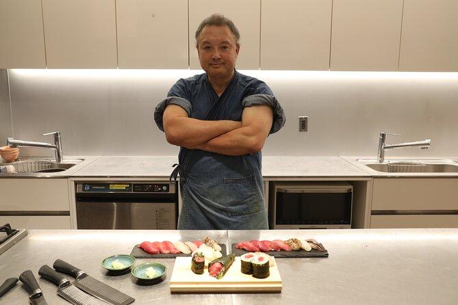 【Online Experience】Cooking ambassador! Tokyo Sushi Premium live workshop