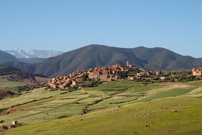 High Atlas Mountains Trip and Overnight Stay In a Berber Village