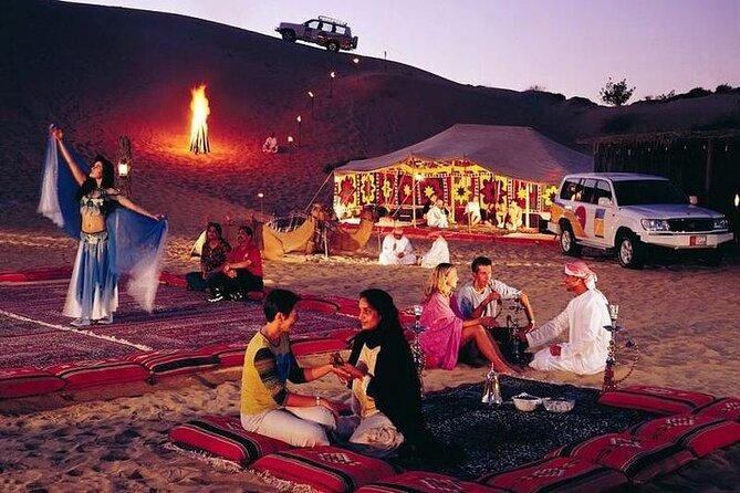 Abu Dhabi Overnight Desert Camping -Arabian Nights with BBQ & Belly Dance
