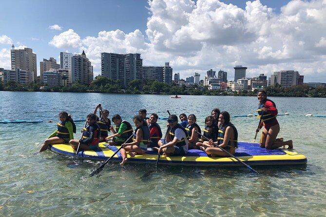 Private Big Paddleboard Experience at Condado Lagoon