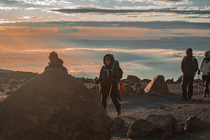 sunrise at the kilimanjaro summit