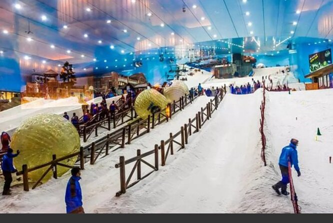 Ski Dubai & Entrance Tickets