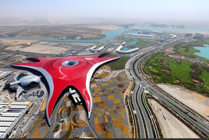 Abu Dhabi City Tour With Ferrari Ferrari World Tickets
