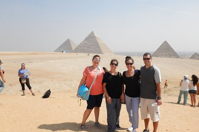 Guided Half Day Tour to Giza Pyramids and Sphinx From Cairo- Private Tour