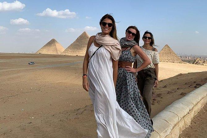 9 Hours Full-Day Tour from Cairo: Giza Pyramids, Memphis, Sakkara & Dahshur