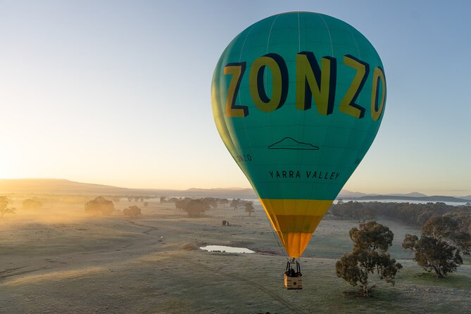 Private Sunrise Balloon Flight over Mansfield with Champagne Breakfast