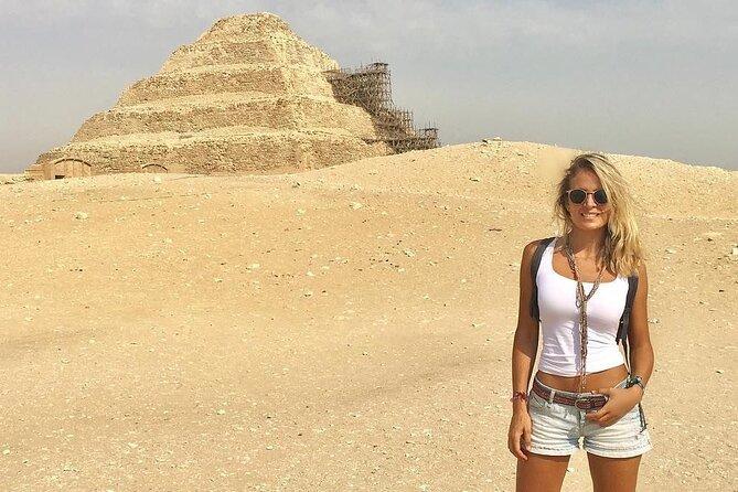 Half-Day Tour to Saqqara, Memphis and Dahshur Pyramids From Cairo