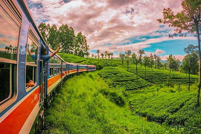 "Ella to Peradeniya train ride on (Train No: 1002 ""Denuwara Menike"")"