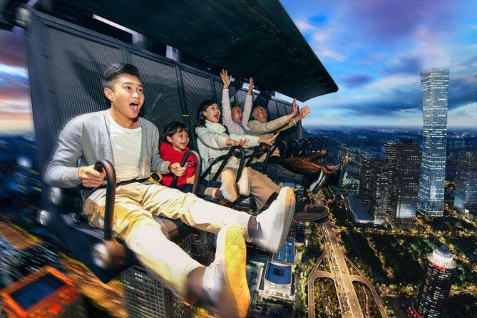 Shijingshan Amusement Park with FlyOver China Experience by Private Transfer
