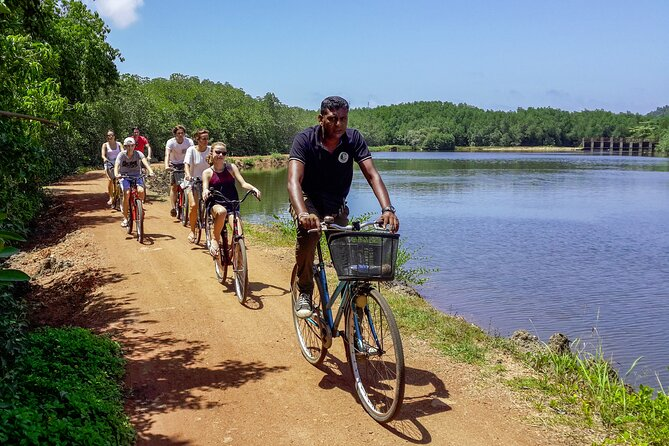 Cycling in Galle Lagoon Village