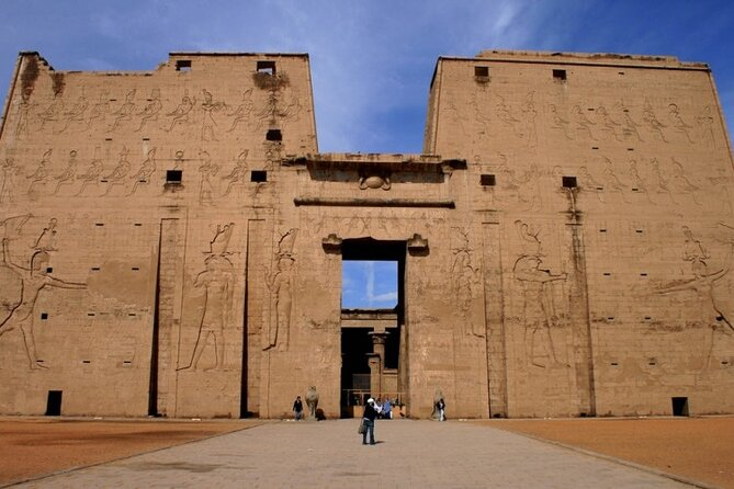 Trip from luxor to Edfu by train