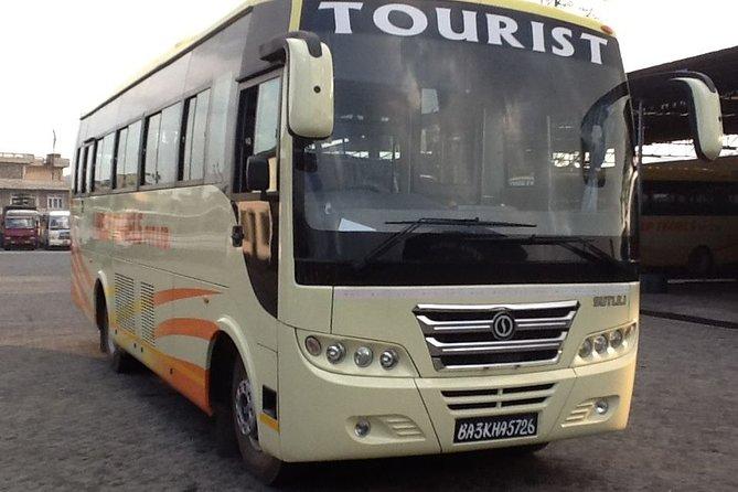 Kathmandu to Chitwan or Chitwan to Kathmandu by Tourist bus Ticket Service
