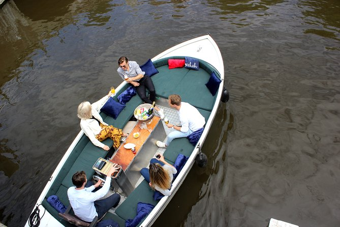 Champagne Breakfast Tour through the Canals of Amsterdam