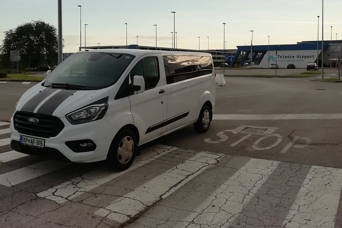 Small-Group Transfer from Trieste City to Trieste Airport