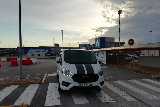 Airport transfer from Trieste Airport to Koper