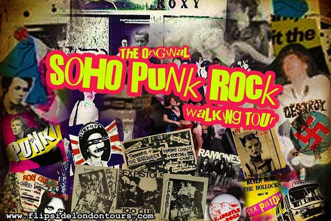 De originele Soho Punk Tour