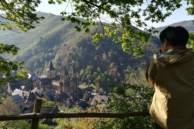 Private tour to Conques from Montpellier