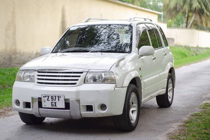 Private Car Rental in Zanzibar (4WD) - New Condition + Good A/C
