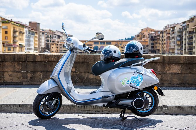 Rent your Electric Vespa 45 in Florence for 8 hours
