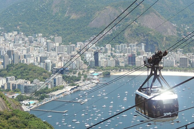 Rio By Air - Sugar Loaf with Lunch and Helicopter tour