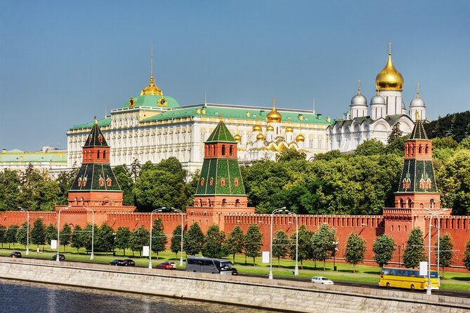 Private Guided Tour in Moscow Kremlin & the Armoury